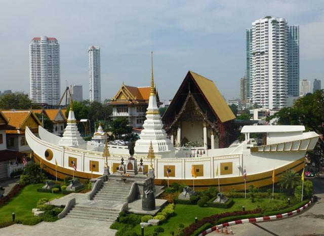 Tour du lịch Thái Lan - Chùa Thuyền