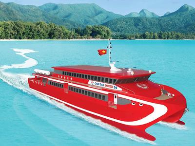 tàu du lịch côn đảo